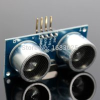 Wholesale arduino analog - Top Quality 1PCS 4 PIN Ultrasonic Module HC-SR04 Distance Sensor For Arduino 51 AVR PIC New