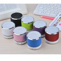 Wholesale S11 Light - Wireless HiFi Speaker S11 Mini Bluetooth Speaker with LED Light colorful Support TF Card Long Standby Time Free Ship