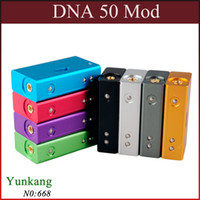 Compra T5 Mod-DNA 50W Box Mod Clone VARIABILE POTENZA fit 18650 battey Mod meccanica 510 \ filo ego VS DNA 30 Cloupor T5 ZNA ZNA 50 30 E Cigarette Mods