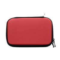 Wholesale Red Nintendo 3ds - HOT Selling Red Hard Travel Carry Case Cover Bag For Nintendo 3Ds LL Pouch Skin Sleeve New
