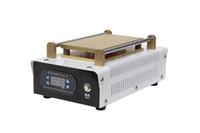 máquina de renovación de la pantalla al por mayor-7 pulgadas de pantalla táctil del teléfono móvil vacío LCD máquina del separador incorporado bomba de vacío sin ruido LCD reacondicionar la máquina