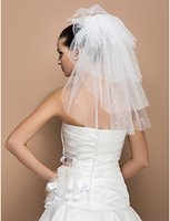 Wholesale Wedding Veils Free Delivery - 2015 high quality Fast Delivery Hot Sale Big Discount Kim Kardashian Wedding Veil Bridal Veil Lace free shipping Bridal Veils Purfle