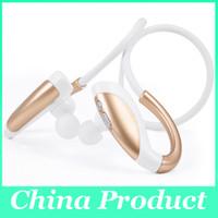 Wholesale Earphone W Mic Iphone - Fashion X26 Wireless Bluetooth Headset In-ear Sport BT4.1 Headphone Speaker Super Bass Music Stereo Hands-free w Mic Earphone 010202
