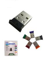 sinal wifi usb venda por atacado-Mini placa de rede sem fio USB sinal WiFi Bluetooth USB adaptador Bluetooth Transmissor receptor sem fio Bluetooth