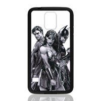 Wholesale S3 Superman - Superman Batman Wonder Woman Trinity for samsung galaxy S3 S4 S5 S6 note2 note4 note3 hard plastic cell phone back cover case222