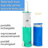 Wholesale Electric Toothbrush Water - Portable rechargeable Oral hygiene Irrigator Dental Water Jet Flosser Auto electric Toothbrush Water pick fio dentes irrigacao