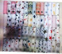 babydecke aden anais großhandel-DHL 120 * 120 cm Multifunktionale Aden Anais Musselin Baumwolle Neugeborenen Wickeln Große Größe Baby Handtuch bettwäsche Decke 47 * 47 zoll