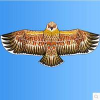 Wholesale Large Folding Fans - Eagle Kite Eagle Eagle Adult Child Large Stereo Front Pole Breeze Newbie Good Fly Weifang Kite