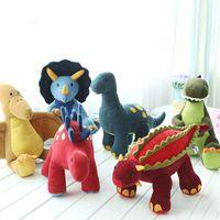 Wholesale New T Rex - 2015 new Stuffed & Plus Animals T-Rex Dinosaur Stuffed Animal Plush Toys Birthday Christmas Gift free shipping