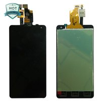 Atacado-For LG Optimus G LS970 F180 E971 E973 E975 LCD Touch Screen com digitador Assembléia + Tools
