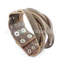 Wholesale Couple Bracelets Korea - Factory outlets Korea retro Woven Bracelet Couple Bracelet