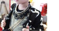 Wholesale Tweed Jacket Wholesalers - Children Fashion Coat 2016 New Autumn Fashion Girls coat Cardigan jacket Long Sleeve Woolen coat baby girls clothes