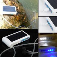Wholesale Solar Pond Air - NEW Portable Solar Power Panel Oxygenator Aerator Air Pump for Pool Pond Fish Tank LED white 3pcs blue 3pcs Free Shipping