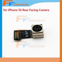Wholesale Rear Camera Replacement - Low Price for iPhone 5S Rear Back Facing Camera Flex Cable Ribbon Replacement Repair Parts High Quality Free Ship AA0006