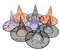 2016 Hot Sale Costumes d'Halloween Party Halloween Props Witches cool Wizard Hats Mix Couleur