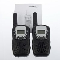 Großhandels-heißer verkaufender 1Stellen LCD 5km UHF Auto Multi Channels 2-Way Radio Wireless-Walkie Talkie T-388 Big Sale!