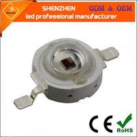 ingrosso bulbo ad alta potenza-1W 3W 5W High Power UV Ultravioletto 365nm 375 395nm 400nm 410nm 420nm LED Lampada Lampadina