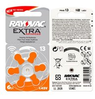 Wholesale Pr48 Battery - 60 PCS RAYOVAC EXTRA Zinc Air Hearing Aid Batteries A13 13A 13 P13 PR48 Hearing Aid Battery A13 Free Shipping For hearing aid