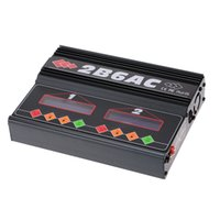 Wholesale Ac Dc Track - Brand 2B6AC 2 * 50W Dual Power Multifunction AC DC Balance Charger Discharger for RC LiPo LiLo LiFe MiMh NiCd PB Battery order<$18no track