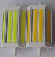 Wholesale R7s Cob - high power 3200LM 30w Dimmable 118mm led R7S light led R7S lamp with cob led replace the halogen lamp 300w AC85-265V