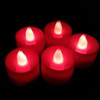 проекторы для детской комнаты оптовых-Бесплатная доставка романтический красочные светоизлучающие светодиодные электронные свечи бездымные свечи ухаживания признание день рождения свадьба celebrati