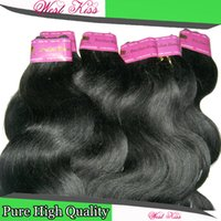 Wholesale Wholesale Weave Distributors - 18pcs lot Wholesale Deal Hair Distributor 100% Human Hair 7a Brazilian Body Wave Extensions DHL shipping Can't beat it