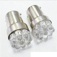 Wholesale G18 Light - 2 Pcs High Qulity 9 LED BA15D 1156 G18 Car Parking Lights Brand New Car External Lights