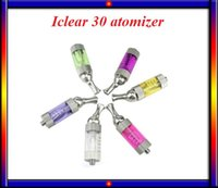 Wholesale Nano Battery Replacement - Hot sell! iClear30 tank rebuilding ic30 atomizer clearomizer pyrex glass replacement coils coil fit ego battery VS Billow V2 nano Goliath V2