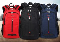 Wholesale Plain Trolley - new trolley travel backpack shoulder bag Oxford bags convenient fashion Computer Backpack Gift