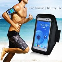 Wholesale Galaxy S4 Holder Belt - Wholesale-New Arm Bands Holder Belt Bag Case for Samsung Galaxy S3 S4 S5 Gym Jogging Cycling Sports Running Case Cover