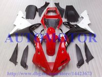 Wholesale Yamaha R1 Custom Fairings - Injection mold 100%Fit for YZF R1 2002 2003 YAMAHA YZFR1 02 03 YZF1000 YZF-R1 02 03 Red white black free custom fairing kits #TT25