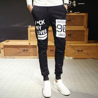 Wholesale Korean Model Male - 2015 autumn new Korean men Slim feet harem pants Wei pants trousers male Taobao explosion models