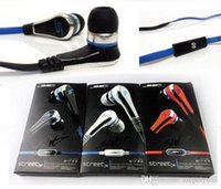 Wholesale Sms Volume - Mini SMS Audio by 50 Cent STREET In-ear Wired Headphones Earphones with Mic and Volume Control Headset For Universal Cellphone High Qual JH2