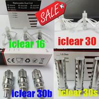 Wholesale Original Innokin Itaste - ORIGINAL Innokin coils iClear 16 iclear 30 30B 30S coil head 1.5ohm 1.8ohm 2.1ohm for itaste mvp 2.0 DHL Free