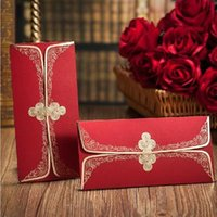 Wholesale Gift envelopes upscale Chinese bronzing gilt red envelope packets sell from w057 welcome to choose