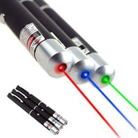 Laser À Rayons Verts Pas Cher-Blue Red Green 532NM-405NM 5mw Visible Beam Light Ray Laser pointeur stylo