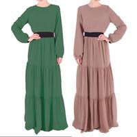 Wholesale Abaya Embroidered - Nice Beauty Charming Camisa Muslim Womenswear Abaya Islamic long dress Embroidered Pakistani