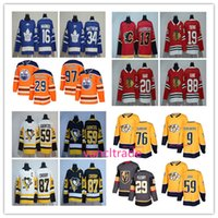 Wholesale Andre Blue - 2017-2018 Season popular 97 Connor McDavid 76 PK Subban 19 Jonathan Toews 87 Sidney Crosby 34 Auston Matthews 29 Marc-Andre Fleury Jerseys