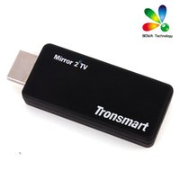 Wholesale Wireless Usb Video Receiver - Tronsmart T1000 Mirror2TV Wireless Display HDMI adapter Miracast   DLNA   EZCAST crazy Receivers item for your home andio an video