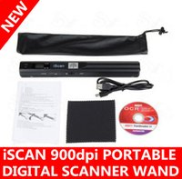 900 DPI iScan Wireless HD portatile tenuto in mano mini scanner digitale grande aiuto A4 JPG PDF