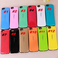 Wholesale S4 Case Free Dhl - Iface Case For iPhone6S 6S Plus 4S 5S 5C i7 i7plus For Galaxy S3 S4 S5 S6 S6 edge Plus Note5 2 3 4 7 Colorful High Quality DHL free