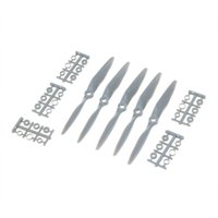 Wholesale Airplane Wing Parts - Hot Sale 5 pcs set APC 6*4 CCW Propeller Blade for RC Airplane Plane Fixed-Wing RC Toys Part free shipping