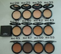 Wholesale New Powder Plus Foundation - HOT NEW Makeup Studio Fix Face Powder Plus Foundation 15g High quality