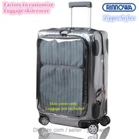 """Wholesale Protective Covers For Luggage - Free shipping New zippers style Luggage Covers for Rimowa Salsa Deluxe Hybrid Best Fits 20"""" 26"""" 28""""Protective Skin Cover easy openg luggage"""