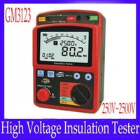 Wholesale Electronic High voltage insulation Tester GM3123 Rated Voltage V V V V MOQ