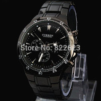 Wholesale curren watch band for sale - Group buy Relogios Masculinos Curren New Fashion Men Big Watch Stainless steel Band High Quality Male Quartz watches Man Wristwatch