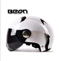 Wholesale Helmet Motorcycle Beon - Wholesale-capacete motocross half face Helmet for men women, BEON 102 motorcycle MOTO electric bicycle safety headpiece