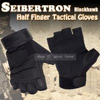 blackhawk hellstorm - seibertron gloves BlackHawk hellstorm Tactical Half Finger fingerless Gloves Motobike Motorcycle bike Cycling Racing Gloves