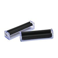 Wholesale rolling machines resale online - 110MM Transparent Tobacco Roller High Quality Cigarette Rolling Machine Rolling Paper Roller Easy To Use Smoking Accessory