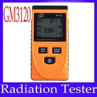 Wholesale Emf Meter Detector - Digital Electromagnetic Radiation Detector Sensor EMF Meter Tester LCD Electromagnetic Meter Field GM3120
